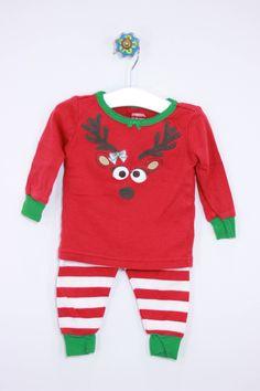 Gymboree Size 12-18M Christmas Pajamas