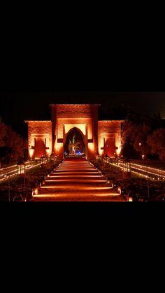 Wedding entrée Dar Soukkar