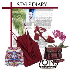 """""""Yoins"""" by spolyvore1 ❤ liked on Polyvore featuring ASOS, Frontgate, yoins and loveyoins"""