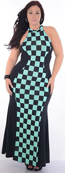 Stance (Plus/Black/Mint)-Great Glam is the web's best sexy plus size online store clothing website for 1X 2X and 3X clothes for women and juniors.