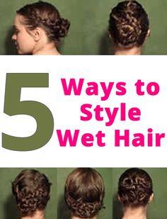Wondrous Wet Hair Style Wet Hair And Hairstyles On Pinterest Short Hairstyles Gunalazisus
