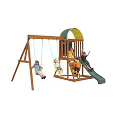 Big Backyard Andorra Swing Set Playset, Is a great gift idea for our 9 year old. It's super popular and something she enjoys playing with. Play Swing Set, Wood Swing Sets, Backyard Swing Sets, Big Backyard, Girl Toys Age 9, Top Gifts For Girls, Lego Building Sets, Cool Toys For Boys, Popular Kids Toys