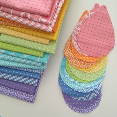 Becca of Bryan House Quilts is first up in our From Bump to Baby blog tour  this week. She's designed the sweetest little raindrop quilt. Check it out  and make a comment to win a jelly roll of the fabric she used!