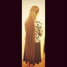 Apostolic Hair.this looks like how i want my  hair length to be