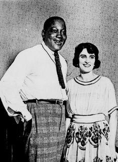 Jack Johnson Boxer White Women | Heavyweight boxing champion Jack Johnson & his wife Lucille