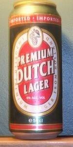 Cerveja Premium Dutch Lager, estilo Standard American Lager, produzida por Oranjeboom Bierbrouwerij, Holanda. 4% ABV de álcool.