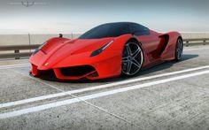 Ferrari F70 V12 Hybrid Concept by wizzoo7