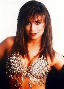 Paula Abdul saw her twice. Only because color me badd opened for her.