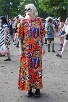 A look at what concert-goers wore to Governors Ball NYC Music Festival. Concert Fashion, Music Festival Fashion, Festival Style, Music Festivals, Ol Fashion, Womens Fashion, Female Fashion, Designer Handbags Outlet, Street Chic