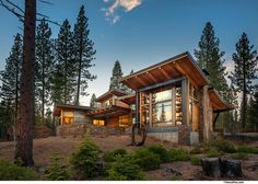 Contemporary Vacation Timber Home for Large Family (14 HQ Pictures)   Top Timber Homes