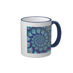 Turquoise Blue Balls Fractal Pattern Coffee Mug | Fractal Art Gifts - http://www.photographybypixie.com/2014/12/27/turquoise-blue-balls-fractal-pattern-coffee-mug-fractal-art-gifts/ #fractalart #fractal #art #gifts