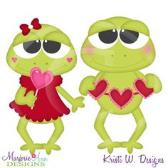Toadally In Love SVG, MTC, PNG, JPG-Includes clipart too