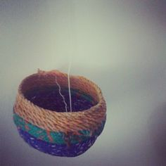 Made from rope and fishing line collected from the beach. Sally @mahanasally Instagram photos | Webstagram Fishing Line, Reuse, Sally, Recycling, Arts And Crafts, My Arts, Beach, Photos, Collection