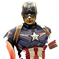 The Avengers: Captain America by Dan Berry *