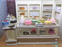 Commission - 15 Miniature 1:6 Cakes and Cupcakes by Bon-AppetEats on DeviantArt