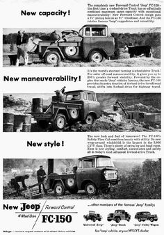 Jeep FC-150 Advertisement