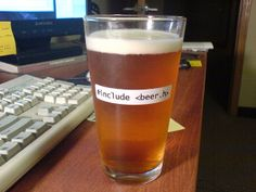 Programming Joke of a Glass of Beer only for Programmers