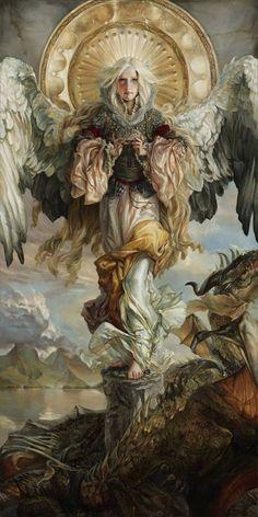 The goddess Lyriel (Heather Theurer)