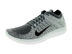 nike free 4.0 flyknit womens running shoes black grey white curtains