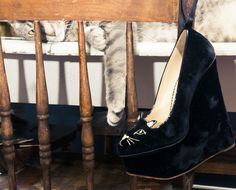 The cat's meow: http://www.thecoveteur.com/chelsea-leyland-dj/