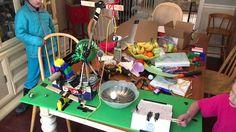 Emme's Egg Cracker Rube Goldberg w/ Paracord, Gorilla Tape & Paiute Trigger