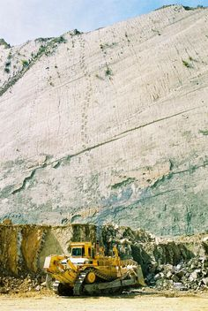 Dinosaur tracks have been discovered up a near vertical wall in a Bolivian quarry. Spread across a limestone slab a mile long and almost 300 feet high, this great wall at Cal Orcko near the city of Suvre reveals more than 5,000 footsteps, with 462 discrete trails. / via @Bianca Prince