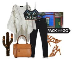 """""""Mexico"""" by nediam ❤ liked on Polyvore featuring Zara, Barbara Bui, H&M, Joie and NOVICA"""