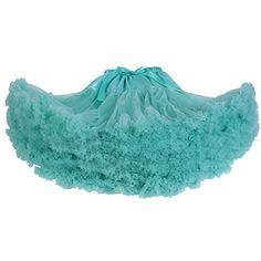 Dressystar Women's Tutu Costume Shimmer Petticoat Princess Multi-layer Puff Skirt