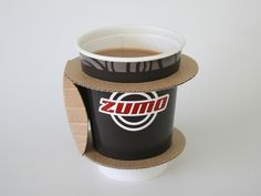 Paper Cup Holder (Concept)   Packaging of the World: Creative Package Design Archive and Gallery