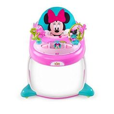 Disney Baby Minnie Mouse Peek-A-Boo Walker, Pink & Blue