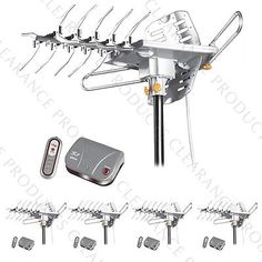 LAVA HD 2605 Indoor Outdoor Digital Motor Controlled G3 Remote Antenna - 5 PACK