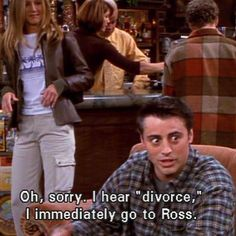 Joey Friends Tv show Quotes Friends Moments, Friends Series, Friends Tv Show, Friends Forever, Friends Cast, Friends Quotes Tv Show, Ross Friends, Ross Geller, Quotes Thoughts
