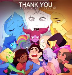 Thank You, Steven Universe Steven Universe Wallpaper, Steven Universe Drawing, Steven Universe Funny, Lars Steven Universe, Marvel Wallpaper, Universe Images, Universe Art, Steven Universe Diamond, Future Wallpaper