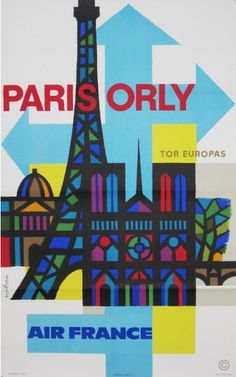 By Guy Georget, ca 1 9 6 2, Paris/Orly Air France.