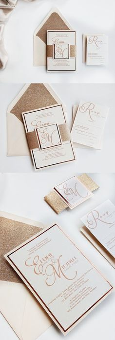 adele suite styled glitter package member board stationery
