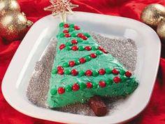 Christmas Tree Brownie   mrfood.com