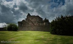 This photo was taken during a location scout at Craigmillar Castle, while searching for the perfect place for Duncan Kerr to tell his story to Jamie.