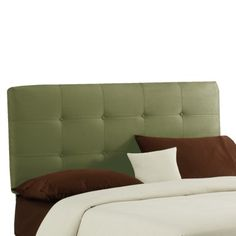 Greenwich Tufted Headboard - oatmeal or stone color