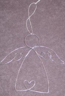 Engel aus Draht - Schutzengel in Bayern - Rauhenebrach | Basteln, Handarbeiten und Kunsthandwerk | eBay Kleinanzeigen