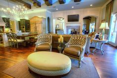 Living Room By Whitnie Cypert Of The Interior Collection. Features The  FL1254 CH Chairs
