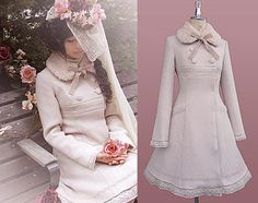 mori girl coat