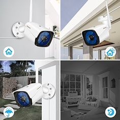 Wireless Security Camera,Jennov Wireless WiFi Bullet IP Camera Waterproof Outdoor and Home Video Surveillance Camera Pre-Installed Micro SD Card Motion Detection Night Vision Wireless Security Cameras, Wireless Camera, Bullet Camera, Ip Camera, Video Surveillance Cameras, Photography Pricing, Night Vision, Sd Card, Wifi