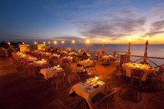 Grand Old House, Georgetown, Waterfront. One of my favorite restaurants on Cayman. Best sunset view on the island.