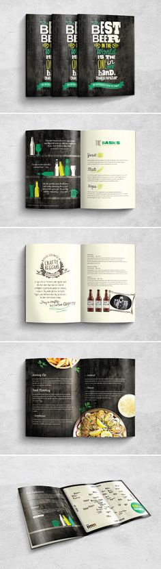 An Introduction to Craft Beer - Brochure Design
