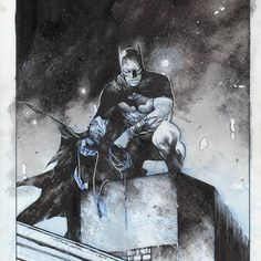 "Bildergebnis für ""miller batman"" the dark knight returns Im Batman, Batman Art, Batman Comics, Comic Book Artists, Comic Artist, Comic Books Art, Dc Anime, Batman The Dark Knight, Batman Universe"