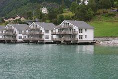 Skjolden, prachtige plek zo boven het fjord.