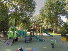 Parc Chantemerle à Corbeil-Essonnes - Jeux pour les enfants