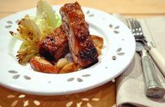 Costelinha de porco com geleia em crosta de castanha-de-caju | Panelinha