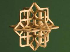 Unique slotted design is easily stack cut for quick production Ornaments are one of the most popular projects for scrollers. These three-dimensional snowflakes can be stack-cut to speed up production, and provide an interesting alternative to the traditional flat ornaments. One word of caution about these patterns; the slots are …
