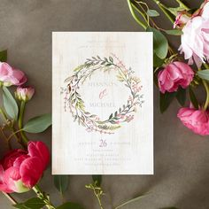 So fresh and natural. Find lush and leafy wreath designs to frame your love story.